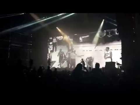 Drake & Two Chains live at Future Music Festival Brisbane Australia