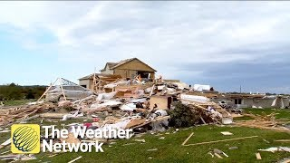 Tornado AFTERMATH: 'It looks like a horror movie'