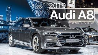 2019 Audi A8L Quattro Navigation & Audio - LA Auto Show 2018