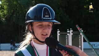 Lavinia Lo Bosco   1^ classificata Trofeo Pony