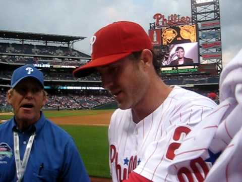 meeting chase utley ! Video