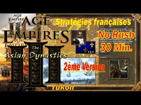 AOE 3 : 2ème version d'un traité 30 min avec les français