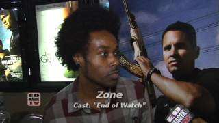 Zone Interview at End of Watch (2012) Movie Meet and Greet