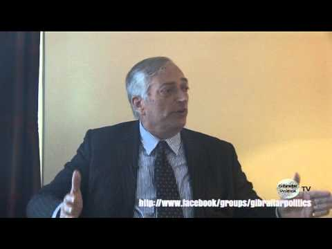 Lord Monckton Interview in Gibraltar