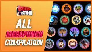 Boxing Star: ALL MEGAPUNCH COMPILATION (from common to epic)