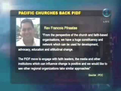 Pacific Churches Back Pacific Island Development Forum (PIDF)(Fiji TV News)