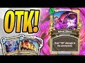 ZERO MANA 40 DAMAGE is on the STRONGER SIDE! | OTK Priest | Rastakhan's Rumble | Hearthstone
