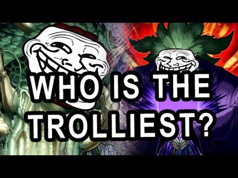 Battle of Trolling As Hard as Possible