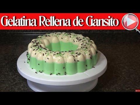 Gelatina Rellena de Gansito / Gelatina Sorpresa - Recetas en Casayfamiliatv