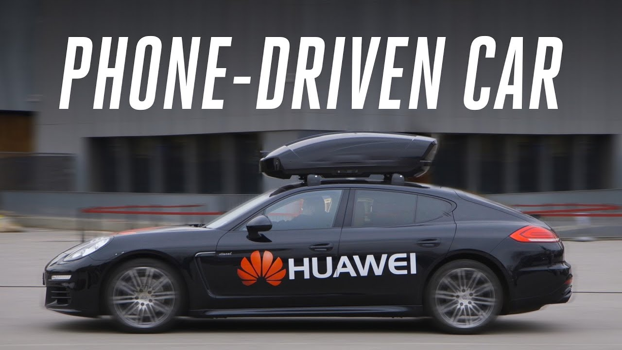 Riding in Huawei's phone-driven car