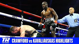 Terence Crawford Retains Belt With Vicious 9th RD Knockout | Full Fight Highlights