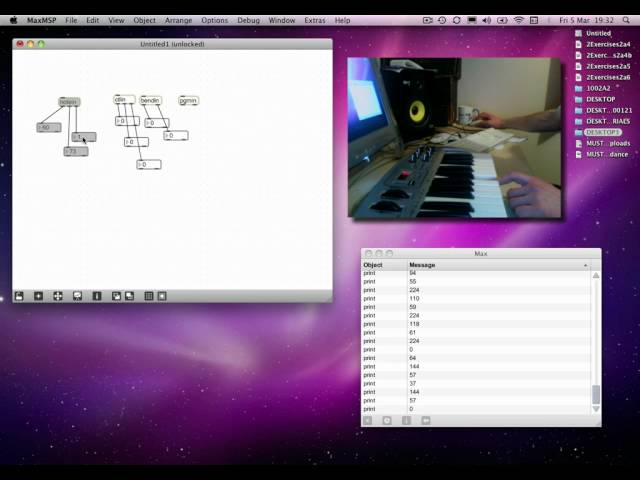 Max MSP Tutorial 02a8: Intro to MIDI objects [3]