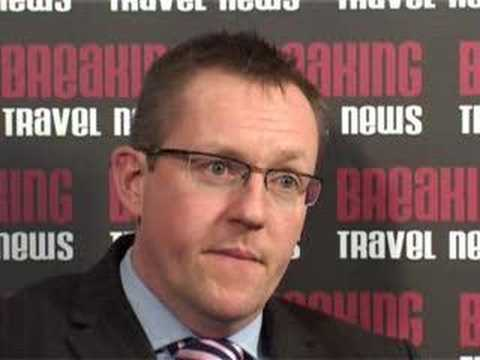 Clive Wratten, Country Manager UK, Etihad Airways @ WTM 2007