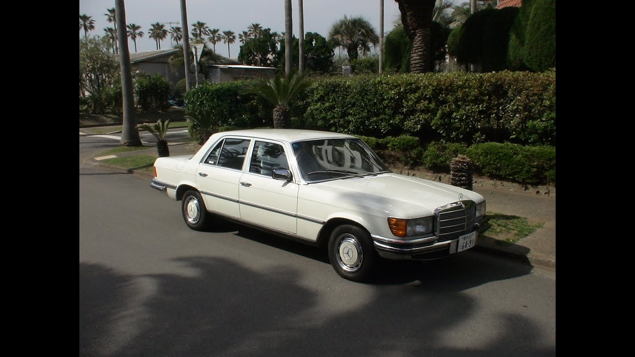 mercedes benz 280se w116 39 1976 youtube