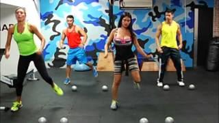 Trbajos aeróbicos, de tonificación y abdomen.flv