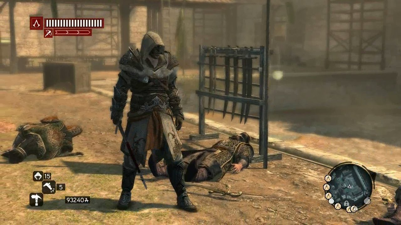 assassins creed revelations turkish assassin armor ezio