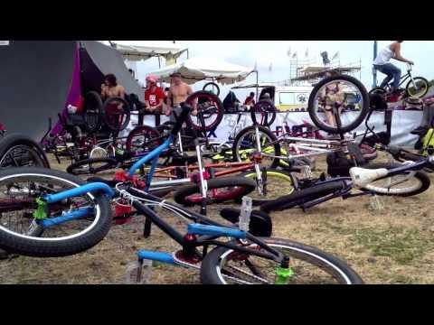 FISE Latino 2012 Costa Rica BMX Trip Dustin Grice Victor Salazar AJ Anaya Alex Landeros & Brossss