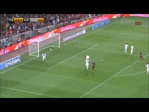 Видео Барселона – Рома 1-й тайм (Футбол