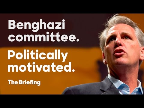 The Republican Agenda Behind the Benghazi Committee | The Briefing