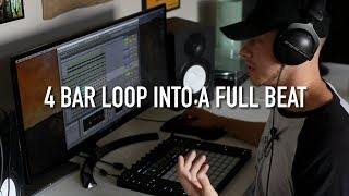How to Turn a Loop into a Full Beat / Hip Hop Sampling Techniques in Ableton Live