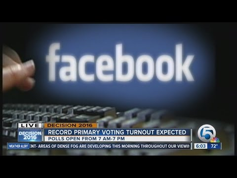 Facebook stats give insight into Florida voter intersests