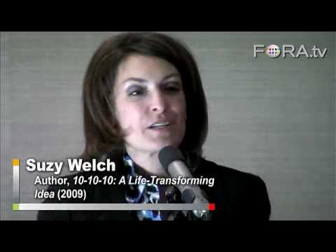 Suzy Welch on 10-10-10: An Operating Principle for Life