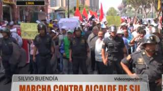 Marcha Contra Alcalde De Sjl