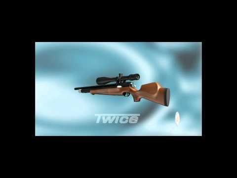 AIR ARMS TWICE d1 NEW AIR RIFLE .22 / 5.5 mm