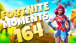 THREADING THE NEEDLE!! THE LUCKIEST ROCKET OF ALL TIME?! | Fortnite Daily & Funny Moments Ep. 164