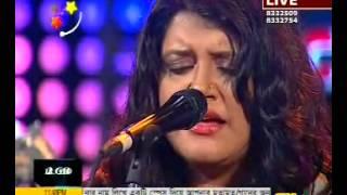 Ujjaini Mukherjee live @ Desh tv - Bangladesh