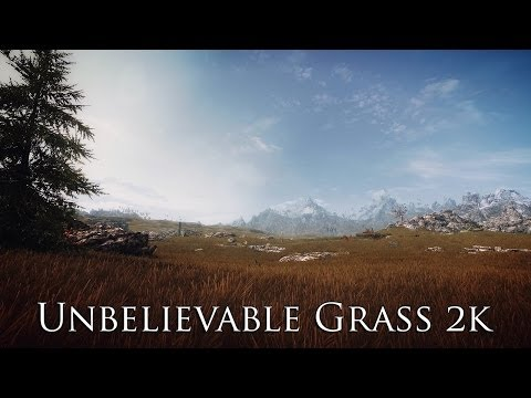 TES V - Skyrim Mods: Unbelievable Grass 2k