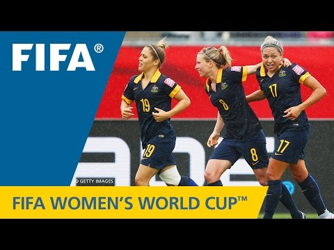 HIGHLIGHTS: Brazil v. Australia - FIFA Women's World Cup 2015