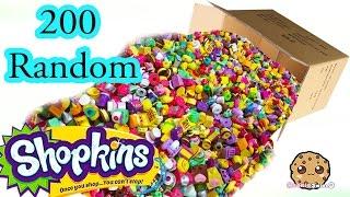 Mega Large Random Surprise Lot of 200 Shopkins Season 2, 3, 4 & Exclusives - Video Cookieswirlc