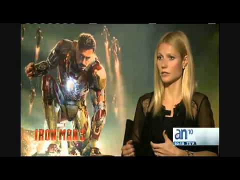 3-2-1 Accin - Maria Salas entrevista a Gwyneth Paltrow de Iron Man 3 - Amrica TeV
