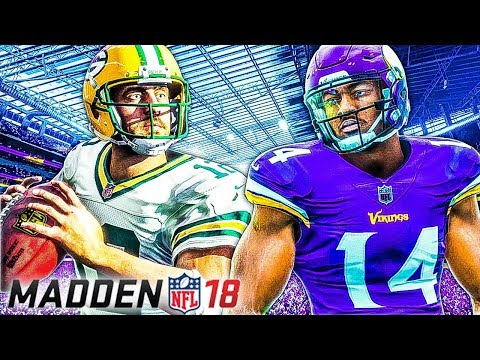 Madden NFL 18 Gameplay - First Impressions (Vikings vs Packers)