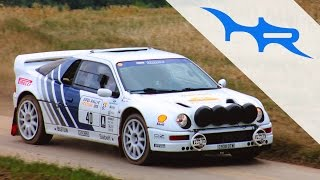 1984 Ford RS200 Evolution (Pure Rally Sound at Eifel Classic Festival 2015)
