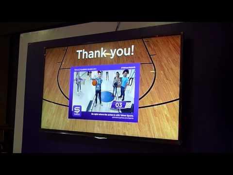 Yahoo Awards - 3D Augmented Reality Basketball Game