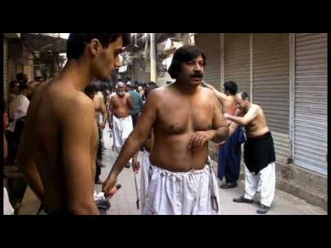 PART 1: Zanjir Zani 10th Muharram 2010 Shah Gardez Multan