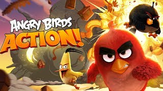 ANGRY BIRDS gameplay part 1 and 2 - let's PLAY Angry birds with GERTIT