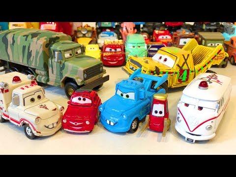 Тачки Дисней Игрушки Новые Машинки Видео для Детей Мультики про Машинки