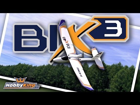 HobbyKing Product Video - HobbyKing Bix3 Trainer/FPV EPO 1550mm