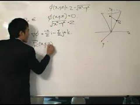 Vector Integral Calculus - Finding the Tangent Plane Video