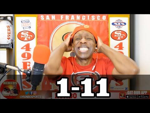 Ronbo Sports In Yo Face, At Yo Place Watching The Game! 49ers VS Bears 2016 Week 13 NFL