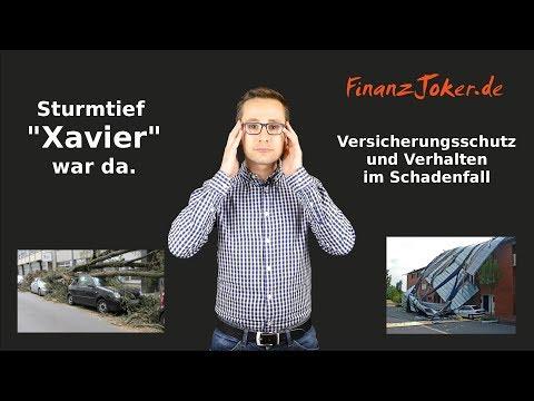 Sturm Xavier  - Versicherungsschutz und Verhalten im Schadenfall