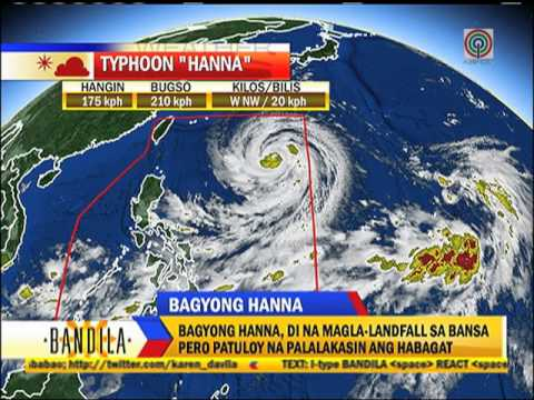 Heavy monsoon rains as typhoon 'Hanna' enters PAR