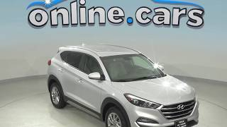 G99183TR Used 2018 Hyundai Tucson SEL AWD SUV Silver Test Drive, Review, For Sale