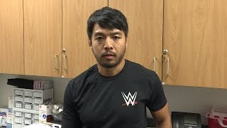 Hideo Itami reveals he is injured: NXT Exclusive, Oct. 13, 2016