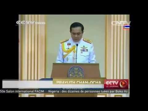 Thaïlande: le Général Prayuth Chan-ocha officiellement investi Premier ministre