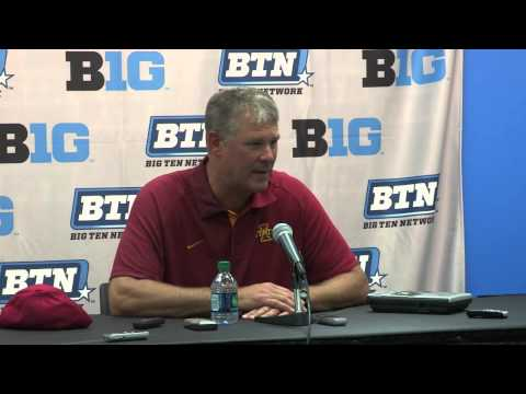 Coach Paul Rhoads: Cy-Hawk post-game