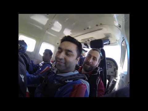 AMIT MISHRA's Tandem skydive!